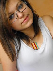 Alexandra Fărnaș, student at Technical College Iuliu Maniu - Şimleu Silvaniei, Romania
