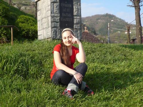 Lorena, student at The Technical College Iuliu Maniu in Simleu Silvaniei, Romania