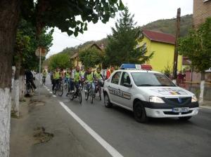 The bike saves the planet!-campaign in Simleu Silvaniei, Romania