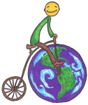 Logo 2 for The bike saves the planet!-campaign in Simleu Silvaniei, Romania
