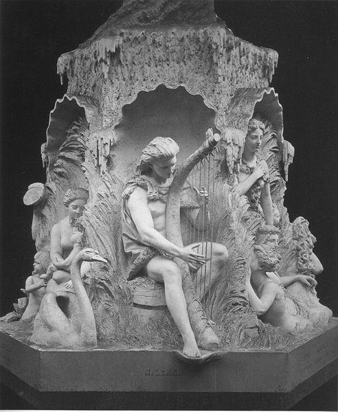 Molin's fountain by Johan Peter Molin