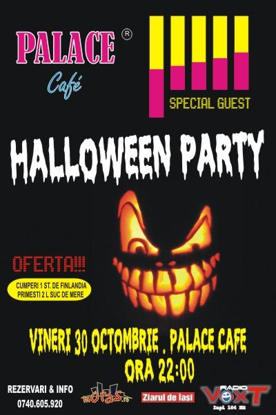 Poster for Halloween Party