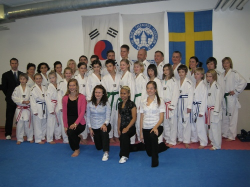 Taekwondo graduation, winter 2009 - Soo Shim in Skellefteå, Sweden