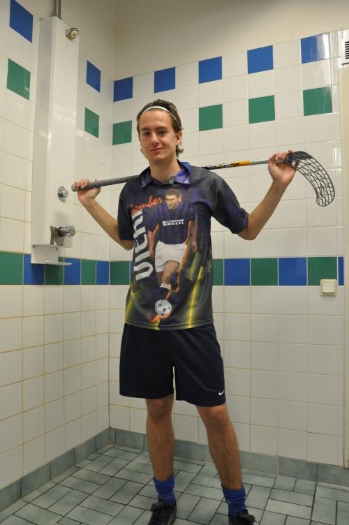 Benjamin Karlsson, SPID3b-student at Anderstorpsskolan in Skellefteå, Sweden