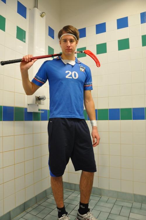 Dennis Karlsson, SPID3b-student at Anderstorpsskolan in Skellefteå, Sweden