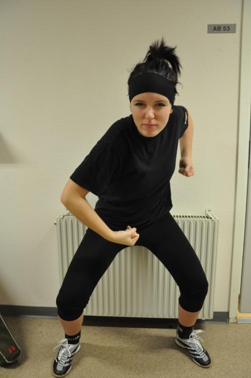 Felicia Vikberg, SPID3b-student at Anderstorpsskolan in Skellefteå, Sweden