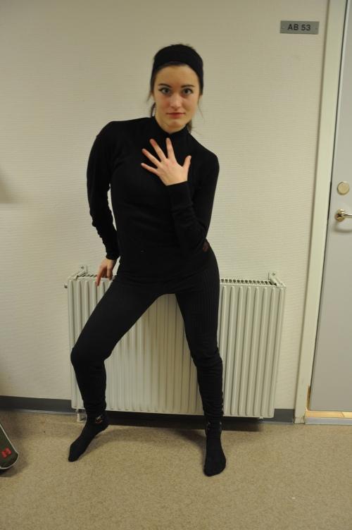 Emelie Marklund, SPID3b-student at Anderstorpsskolan in Skellefteå, Sweden
