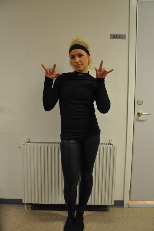 Amanda Holmqvist, SPID3b-student at Anderstorpsskolan in Skellefteå, Sweden