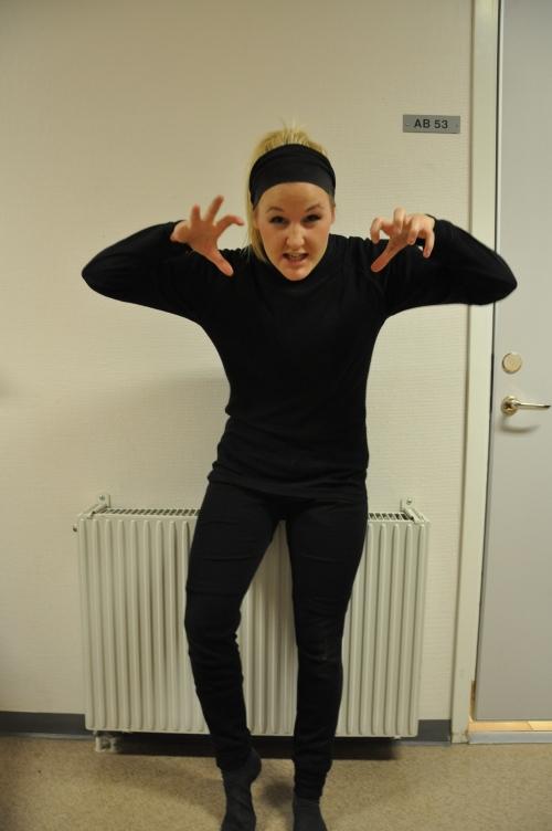 Linn Björnstad, SPID3b-student at Anderstorpsskolan in Skellefteå, Sweden