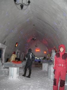 Ice Hotel at Bâlea Lake
