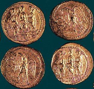 Dacian gold coins