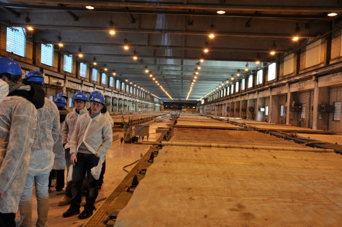 The Swedish and Romanian CREW visit Rönnskär Museum and smelting plant in Skelleftehamn, Sweden