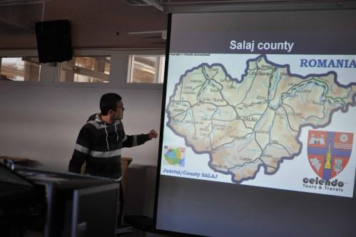 Samuel Man presents facts about Simleu Silvaniei and Romania