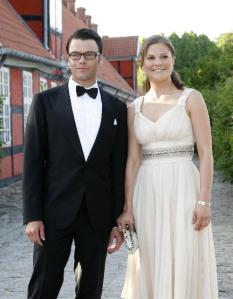 The Crown Princess of Sweden, Duchess of Västergötland and her boyfriend Daniel Westling