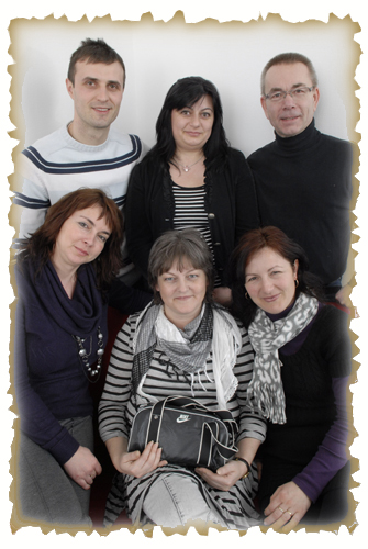 The Swedish and Romanians CREW teachers, Alin, Liliana, Stefan, Judith, Christina and Alina
