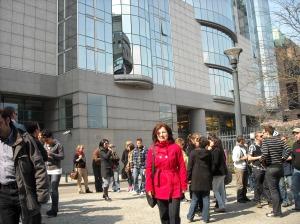 BIOSE - the  European Parliament in Bruxelles