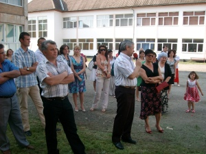 "Cocktail, a Party Offered by the School's Teachers for the Graduates at The Technical College ""Iuliu Maniu"" in Şimleu Silvaniei, Romania"