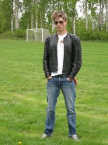 William Grenholm, SPID3b-student at Anderstorpsskolan's Day 2010 in Skellefteå, Sweden