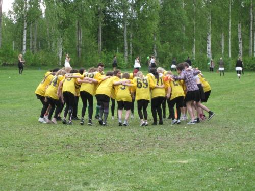 SPMJ3 was American football players at Anderstorpsskolan's Day 2010 in Skellefteå, Sweden