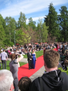 Johan Lundgren at the Student Ball 2010 - Anderstorpsskolan in Skellefteå, Sweden