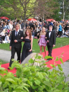Jacob Eliasson at the Student Ball 2010 - Anderstorpsskolan in Skellefteå, Sweden