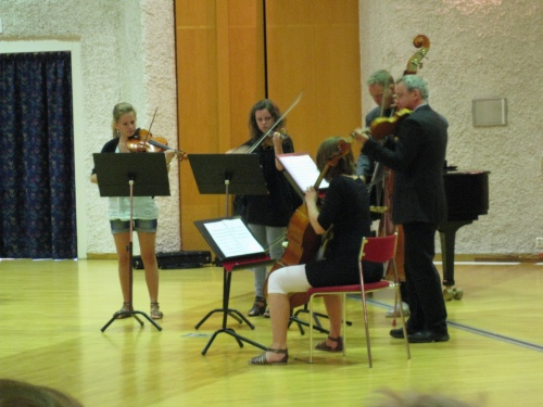 Scholarships 2010 at Anderstorpsskolan in Skellefteå, Sweden. Students from the Arts programme (Music) Classical music played for us.