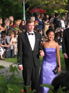 Olov Bergqvist at the Student Ball 2010 - Anderstorpsskolan in Skellefteå, Sweden