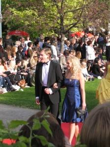 Isak Pettersson at the Student Ball 2010 - Anderstorpsskolan in Skellefteå, Sweden