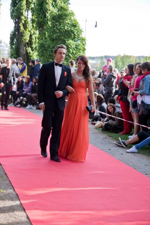 Marica Nilsson at the Student Ball 2010 - Anderstorpsskolan in Skellefteå, Sweden