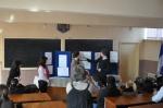 """The first school day at The Technical College """"Iuliu Maniu"""" in Simleu Silvaniei, Romania"""
