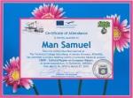 Samuel Man, student at Technical College Iuliu Maniu - Simleu Silvaniei, Romania