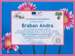 Andra Braban daughter to Alina Braban, CREW coordinator and contact person, teacher of Chemistry and ICT at Technical College Iuliu Maniu - Simleu Silvaniei, Romania