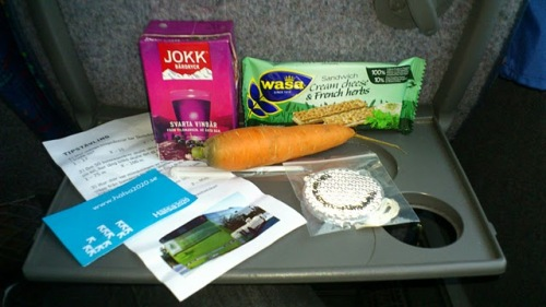 Breakfast Bag from Skelleftea bus on 'Car Free Day' 2011