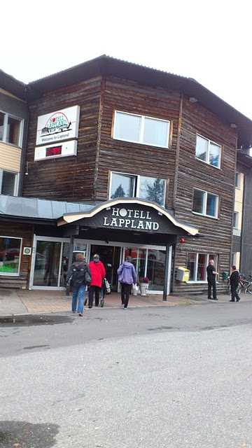 Lappland Hotel in Lycksele, september 2011