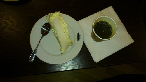 PIM-cake and coffee - PIM-gala in Norrland, 2011